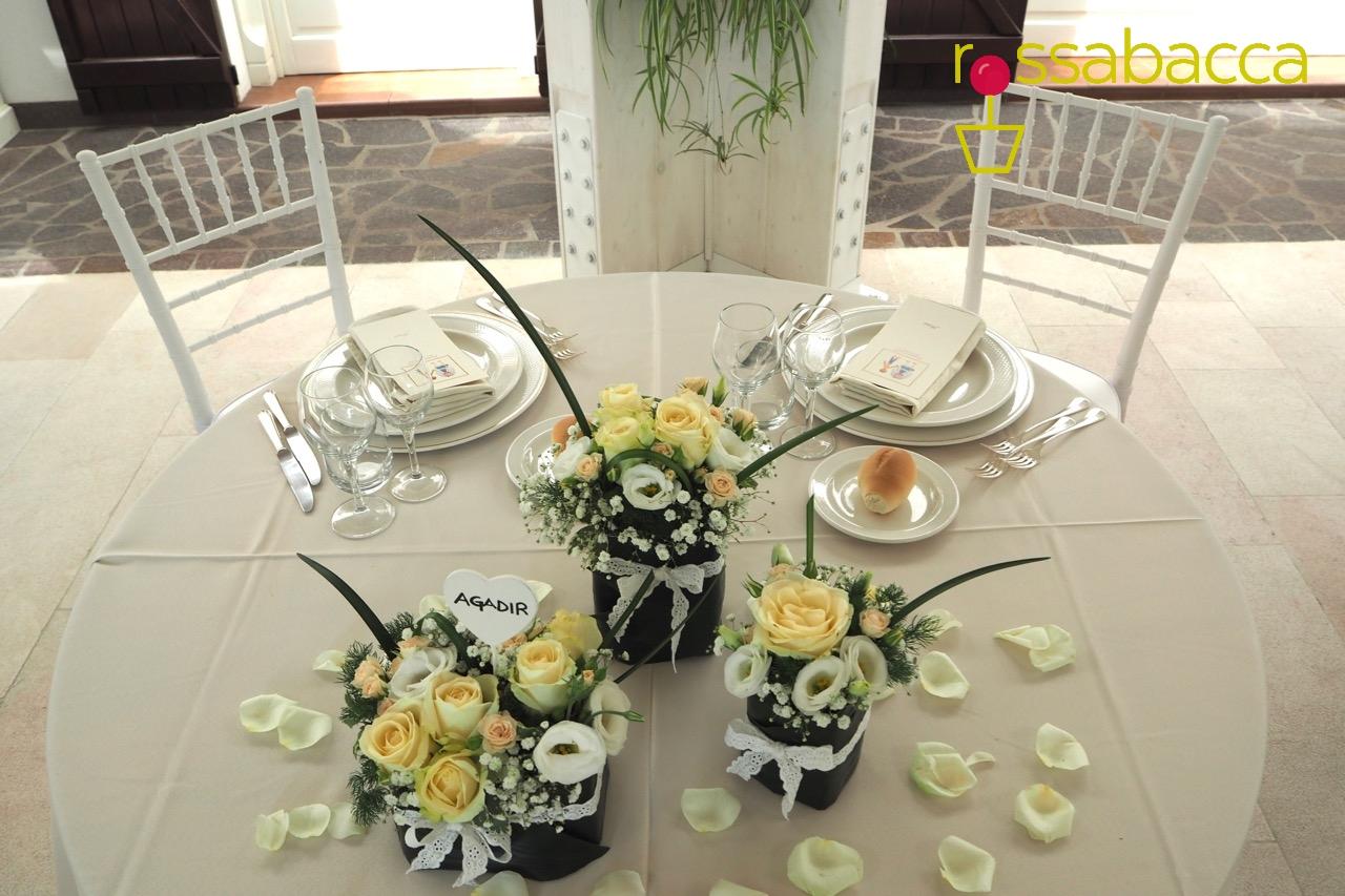 Tableau de mariage rossabacca rossabacca - Composizioni floreali per tavoli ...