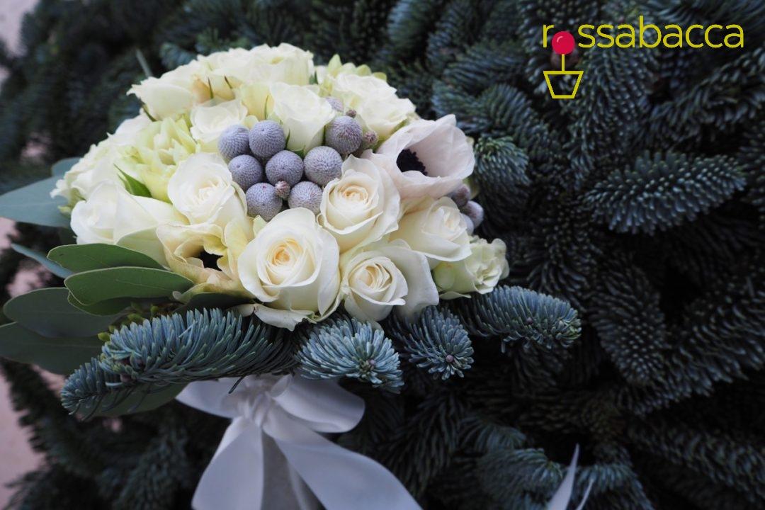 Bouquet Sposa Invernale.Matrimonio Invernale Rossabacca