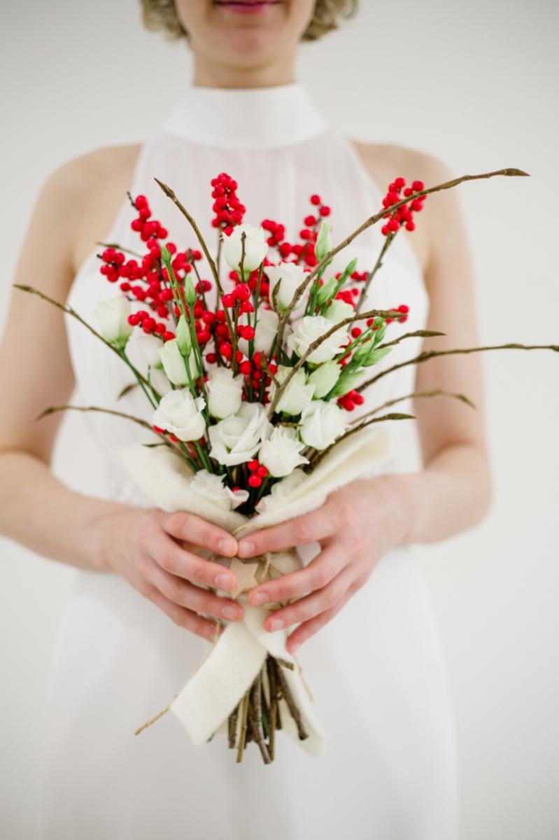 Bouquet Natalizio Matrimonio : Bouquet natalizio u rossabacca